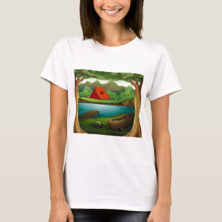 Camping ground T-Shirt