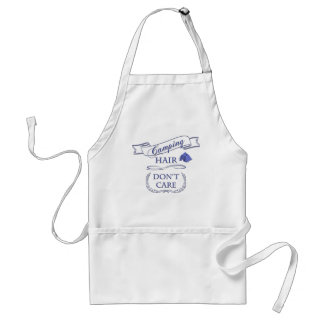 Camping Hair Don't Care Adult Apron