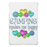Camping Happiness iPad Mini Cases