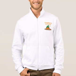 Camping In Tents Printed Jackets