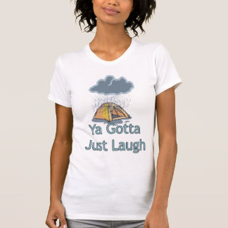 Camping in the Rain T-shirts