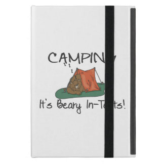 Camping Is Beary In Tents iPad Mini Covers