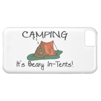 Camping Is Beary In Tents iPhone 5C Cases