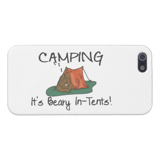 Camping Is Beary In Tents iPhone SE/5/5s Case