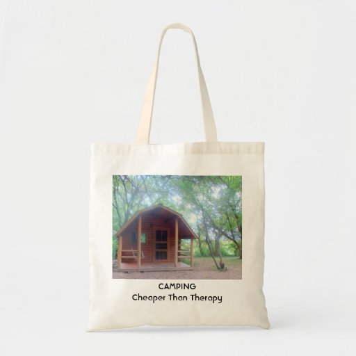 Camping is Cheaper than Therapy Tote Bags