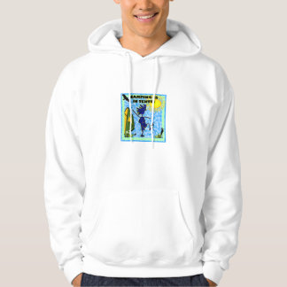Camping Is In Tents Design Sweatshirts