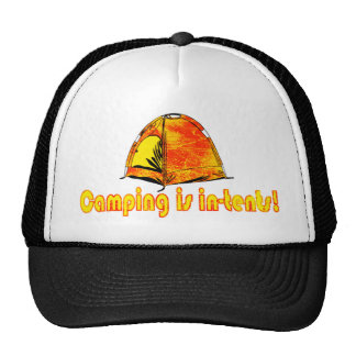 Camping is in-tents! Hat