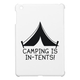Camping Is In-Tents! iPad Mini Covers