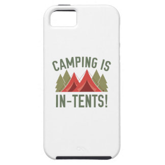 Camping Is In-Tents! iPhone SE/5/5s Case