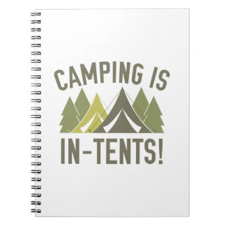 Camping Is In-Tents! Notebooks