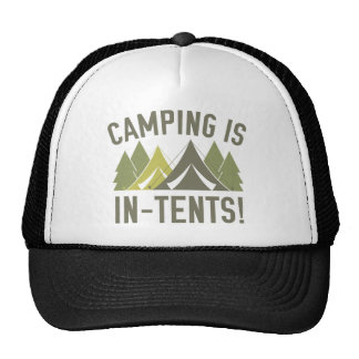 Camping Is In-Tents! Trucker Hat