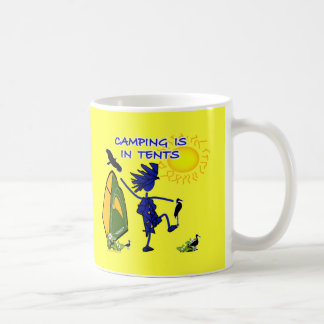 Camping Is (Intense) In Tents Coffee Mugs