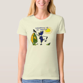Camping Is (Intense) In Tents T-Shirt