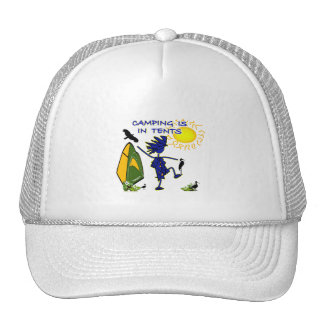 Camping Is (Intense) In Tents Trucker Hat