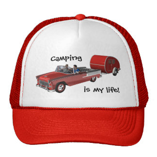 Camping Is My Life Trucker Hat