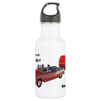 Camping Is My Life Water Bottle