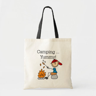 Camping is Yummy Canvas Bag