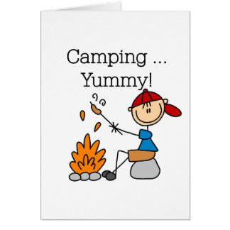 Camping is Yummy Card
