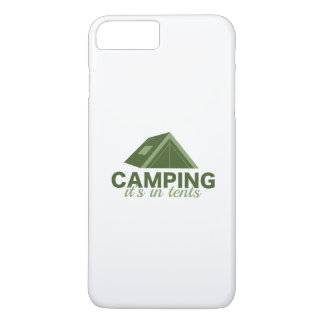 Camping It's In Tents iPhone 8 Plus/7 Plus Case