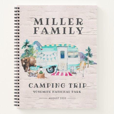 Camping Journal | Custom Road Trip Journal