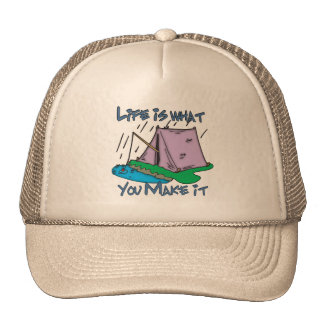 Camping Life Trucker Hat