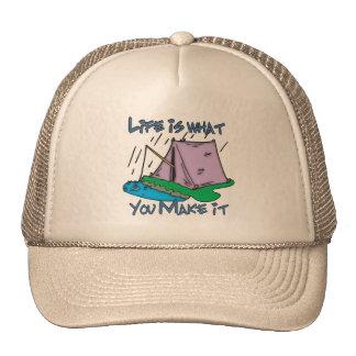 Camping Life Trucker Hats