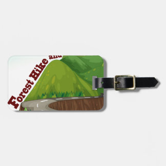 Camping Luggage Tag