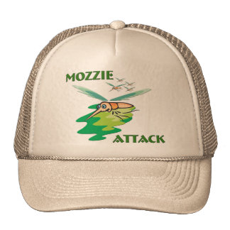 Camping Mozzie Hats