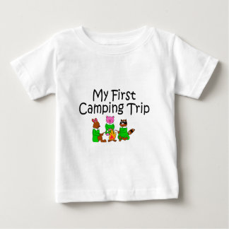 Camping My First Camping Trip Baby T-Shirt