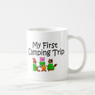 Camping My First Camping Trip Mug