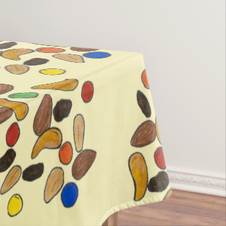 Camping Nuts Candy Trail Mix Outdoor Hiking Camp Tablecloth