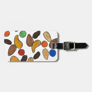 Camping Nuts Candy Trail Mix Snack Food Bag Tag