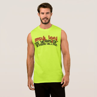 Camping outfit sleeveless shirt