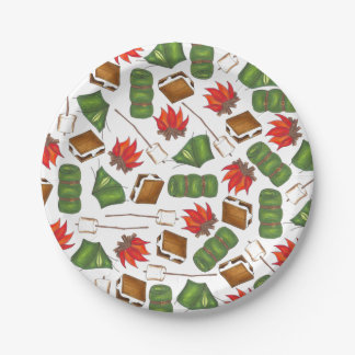 Camping Paper Plates