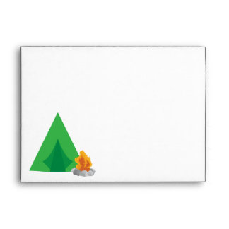 Camping Party Envelope