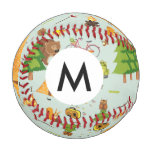 Camping Pattern Baseball