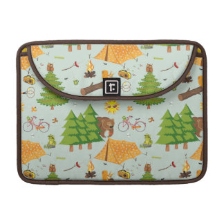 Camping Pattern Sleeve For MacBooks