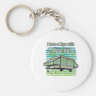 Camping PopUp Keychain