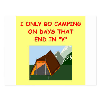 camping post cards