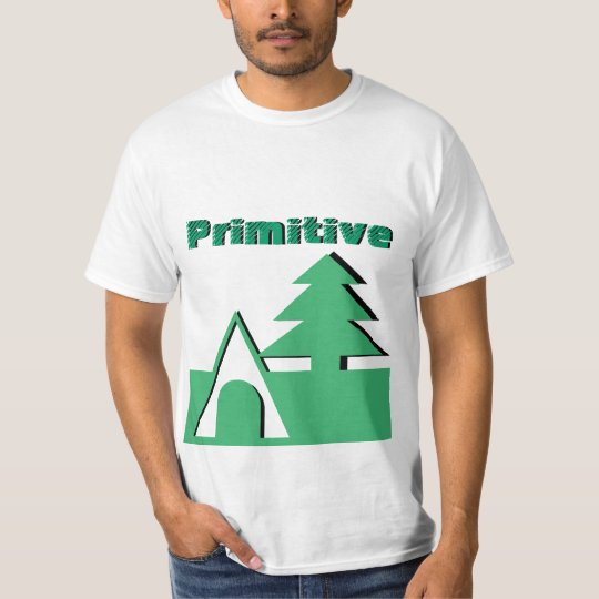 Camping Primitive Camper Camp In The Wild T-Shirt