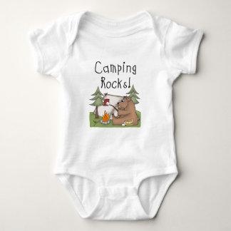Camping Rocks Baby Bodysuit