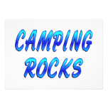 CAMPING ROCKS CUSTOM ANNOUNCEMENT