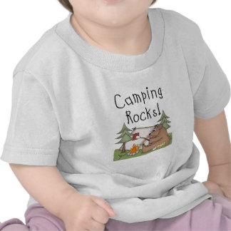 Camping Rocks Tee Shirts