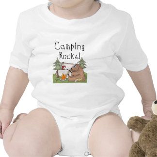 Camping Rocks T-shirt