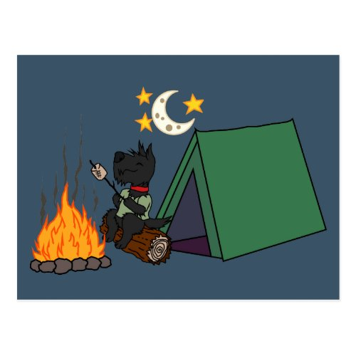 Camping Scott Postcard