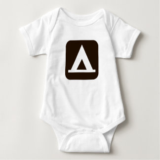 Camping Sign Infant One Piece Baby Romper Bodysuit