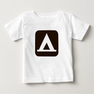Camping Sign Symbol Baby T-Shirt