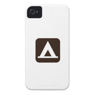 Camping Sign Symbol Case-Mate iPhone 4 Case