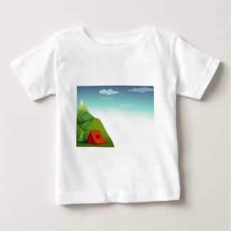 Camping site baby T-Shirt