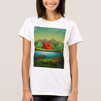 Camping site T-Shirt